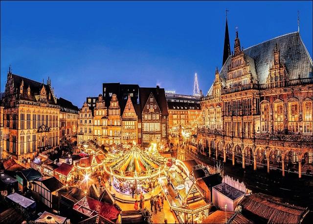 Disponibilités pendant le Marché de Noël : Hôtel Au Cheval Blanc Mu...