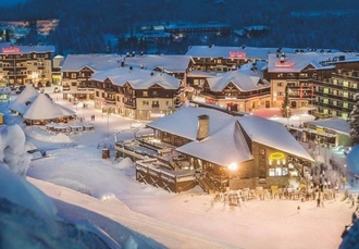 Magical Finnish Lapland ski break with a snowmobile safari, Ski-Inn Hotel RukaVillage, Finland - save 29%