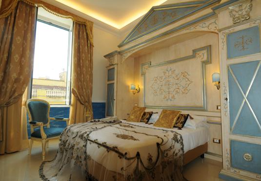 Hotel Romanico Palace Deluxe Room