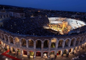 Romantic Verona city break with iconic opera tickets, Hotel Milano, Italy - save 22%