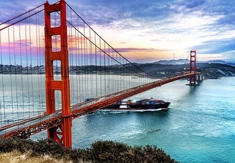 Exhilarating East to West USA holiday, New York, San Francisco & Las Vegas - save 36%