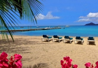 Caribbean beachfront escape, Oualie Beach Resort, Saint Kitts & Nevis - save 50%