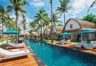Jambuluwuk Oceano Resort at Gili Trawangan, Lombok, Indonesia - save 69%