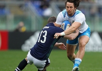 Rome break with Six Nations Italy vs Scotland rugby tickets, Hotel Londra & Cargill, Italy - save 25%