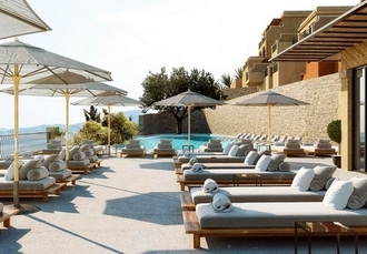 Chic adults-only Corfu beach holiday, Marbella Nido Suite Hotel & Villas, Greece - save 27%