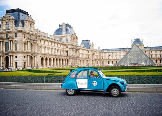 paris break with eurostar optional vintage citroen 2cv tour save up to 60 on luxury travel. Black Bedroom Furniture Sets. Home Design Ideas