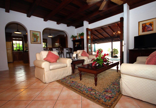 sevennights in a luxury tobagan villa with all travel and welcome gifts