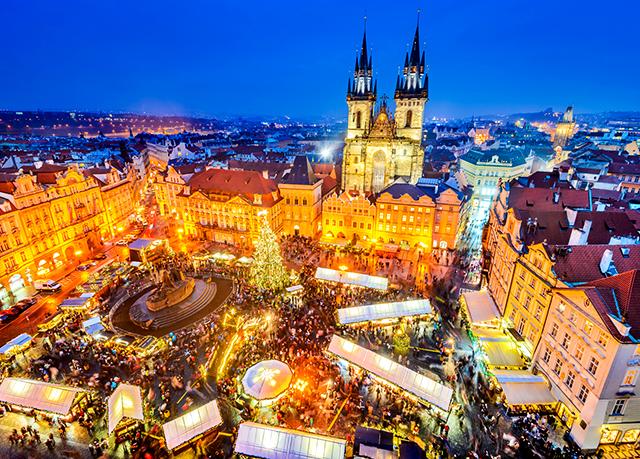 Enchanting prague city break with festive dates save up for Designhotel elephant prague 1 czech republic