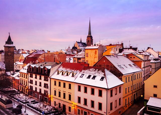 Pilsen city break with a modern hotel stay festive dates for Designhotel elephant prague 1 czech republic