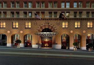 innovative design fd685 411e1 Landmark hotel in S.F.s Financial District