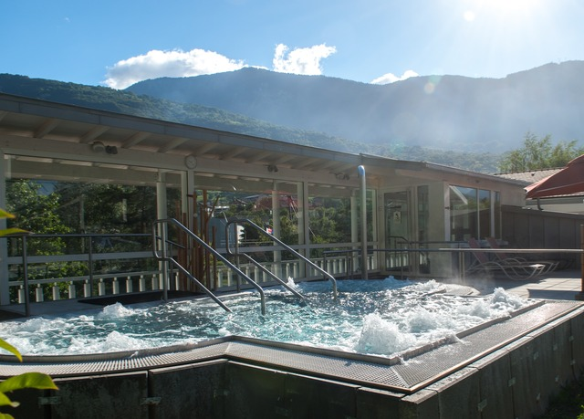 Spa de 1500 m² à l'hôtel Radiana