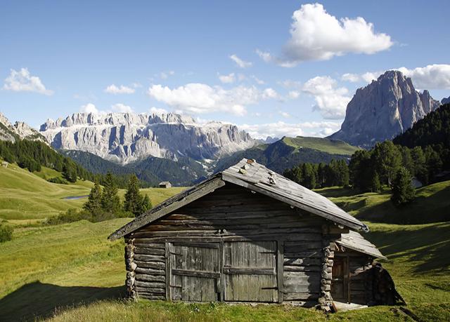 Italian dolomites summer holidays